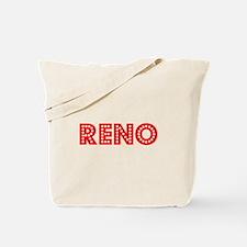 Retro Reno (Red) Tote Bag