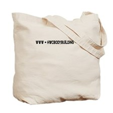 Bodybuilder Logo Tote Bag