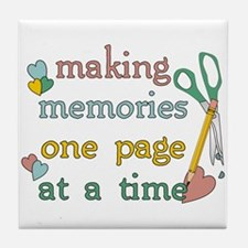 Making Memories Tile Coaster