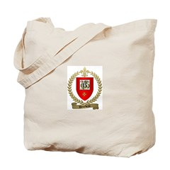 BOURBEAU Family Crest Tote Bag