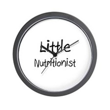 Little Nutritionist Wall Clock