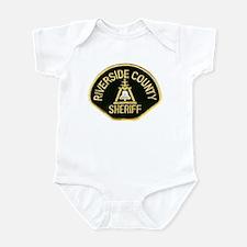 Riverside Sheriff Infant Bodysuit