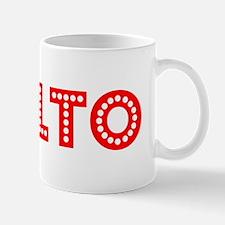 Retro Rialto (Red) Mug