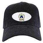 BOURGEOIS Family Crest Black Cap
