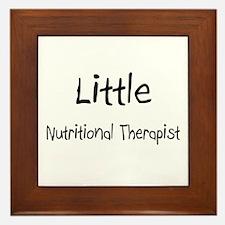 Little Nutritional Therapist Framed Tile