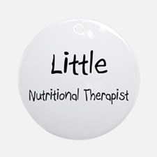 Little Nutritional Therapist Ornament (Round)