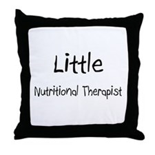 Little Nutritional Therapist Throw Pillow