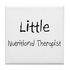 Little Nutritional Therapist Tile Coaster