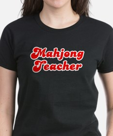 Retro Mahjong Tea.. (Red) Tee