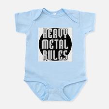 Heavy Metal Rules Infant Creeper