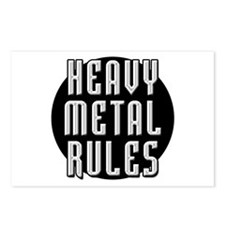 Heavy Metal Rules Postcards (Package of 8)