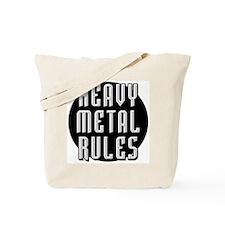 Heavy Metal Rules Tote Bag