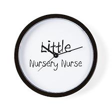 Little Nursery Nurse Wall Clock