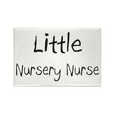 Little Nursery Nurse Rectangle Magnet