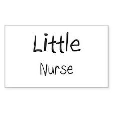 Little Nurse Rectangle Decal