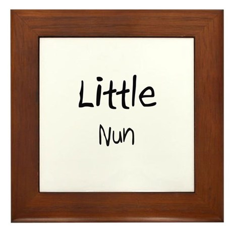 Little Nun Framed Tile