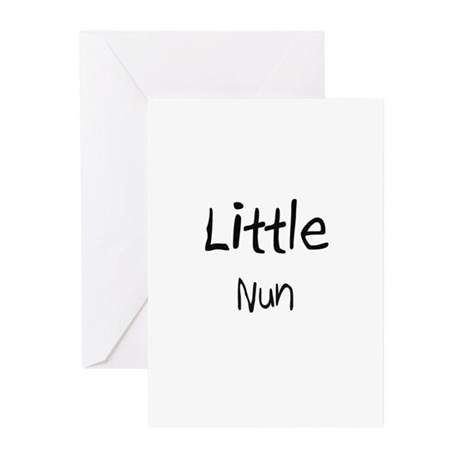 Little Nun Greeting Cards (Pk of 10)
