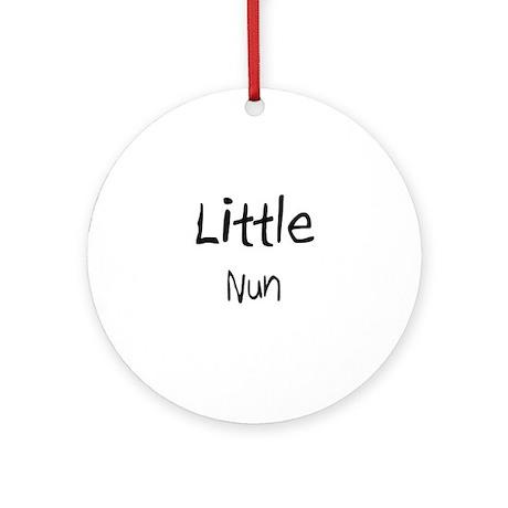 Little Nun Ornament (Round)