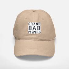 Granddad of Twins Baseball Baseball Cap
