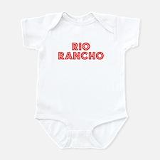 Retro Rio Rancho (Red) Infant Bodysuit