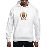 BOURQUE Family Crest Hooded Sweatshirt