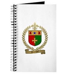BOURQUE Family Crest Journal