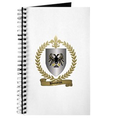 BOUTIN Family Crest Journal