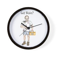 Got bloke? Wall Clock