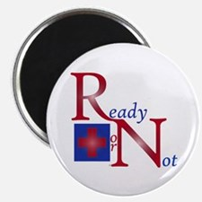 RN Ready or Not Magnet
