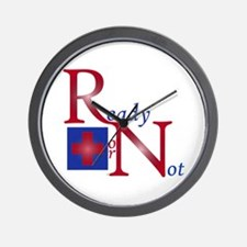 RN Ready or Not Wall Clock