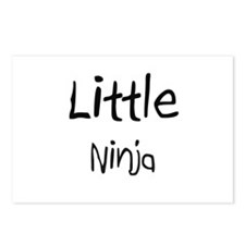 Little Ninja Postcards (Package of 8)