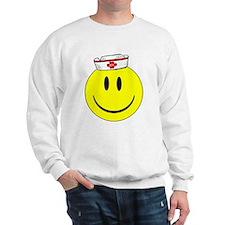 RN Nurse Happy Face Sweatshirt