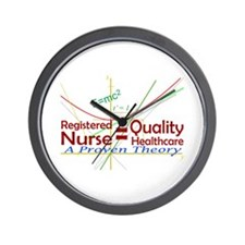 RN = Quality Healthcare Wall Clock