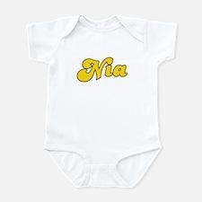 Retro Nia (Gold) Infant Bodysuit