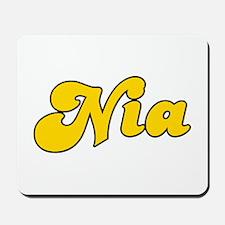 Retro Nia (Gold) Mousepad