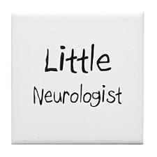 Little Neurologist Tile Coaster