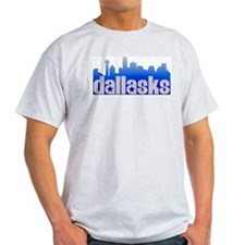 Dallasks Ash Grey T-Shirt