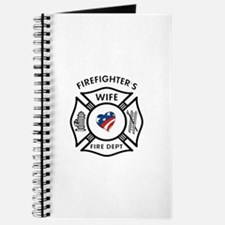 Fire Fighter Wife Journal