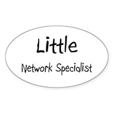 Little Network Specialist Oval Decal