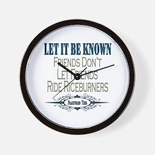 Riceburners Wall Clock