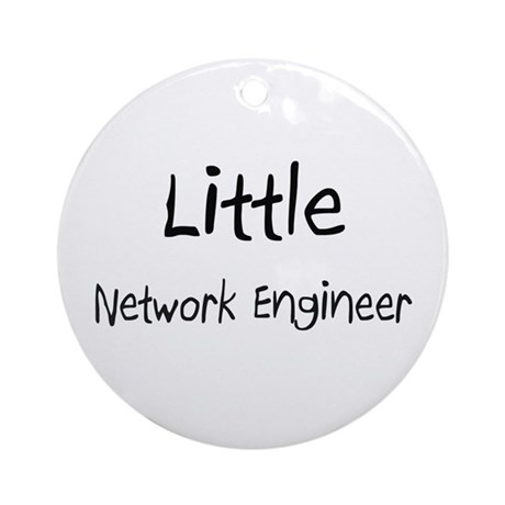 Little Network Engineer Ornament (Round)