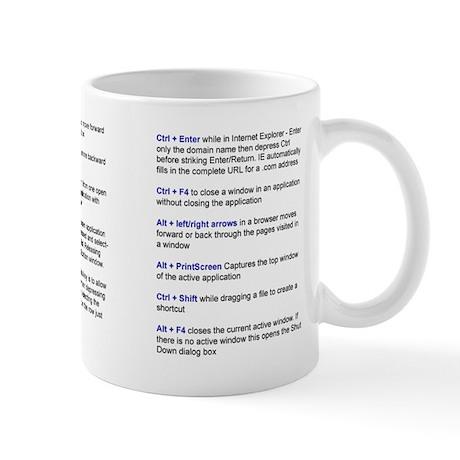 Keyboard ShortCup Mug