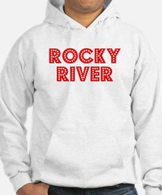 Retro Rocky River (Red) Hoodie