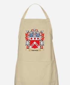Thomas- Coat of Arms - Family Crest Light Apron