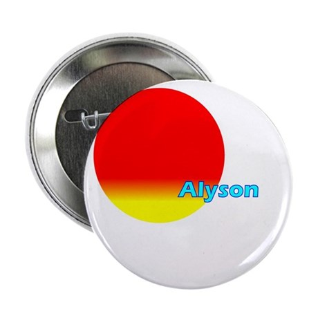 "Alyson 2.25"" Button (100 pack)"