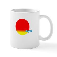 Alysa Small Mug