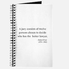 Robert Frost 6 Journal