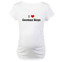 I Love German Boys Shirt