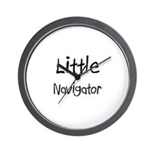 Little Navigator Wall Clock