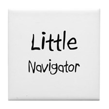 Little Navigator Tile Coaster